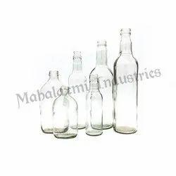 Liquor Glass Bottle Family