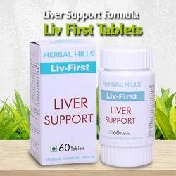 Healthy Liver Care Supplement - Liv-First 60 Tablet