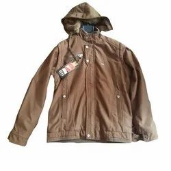 Mens Hooded Full Sleeves Jacket