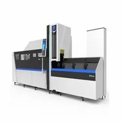 Automatic Metal Tube Fiber Laser Cutting Machine