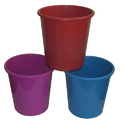 Colored Plastic Dustbin