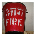 Gi/ms Red Fire Bucket