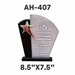 AH - 407 Acrylic Trophy