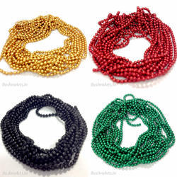 c0fdd4b6218ec Metal Ball Chain - All Color