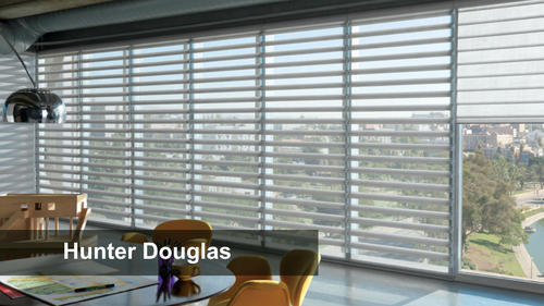 Plastics Pvc White Hunter Douglas Zebra Blind Rs 150 Square Feet Ivish Decor Id 19847253948