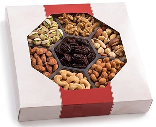 Worlds Finest Nuts With The Gourmet Nut Gift Tray Corporate Gift Box