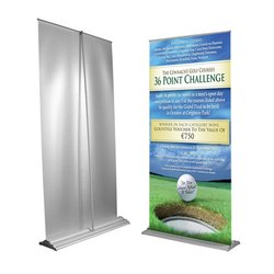 Roll Up PVC Banner Stand