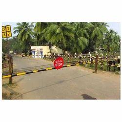 Railway Lifting Barrier Gate Pedestal