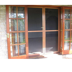 Insect Screens - Alfence Wooden Finish
