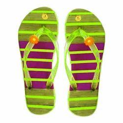 Ladies Rubber Flip Flop Slipper, Size: 7