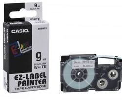 Casio XR-9WE1 Label Printer Tape