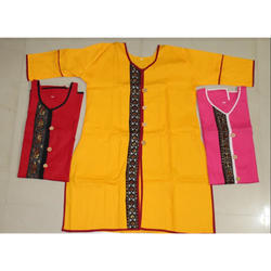 Medium And Large Red & Pink Ladies Kurti