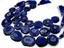 Fabulous Blue Sapphire Solar Quartz Beads Strand