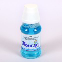 Chlorhexidine Gluconate, Sodium Fluoride and Zinc Chloride Mouth Wash