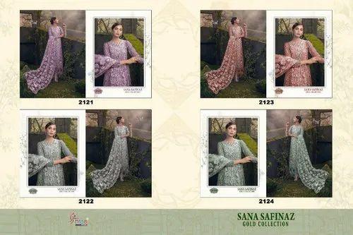 205e60aa2b Wedding Wear Shree Fabs By Sana Safinaz Gold Pakistani Work Salawar Kameez