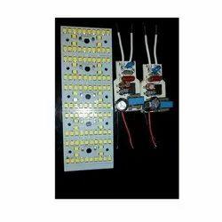 Aluminum Base LED Bulb PCB & Amp Driver, Shape: Rectangle
