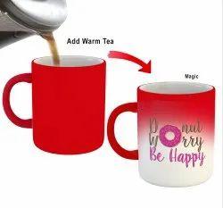 Printed Red Coffee Mug