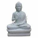 BM Art White Marble Buddha Statue