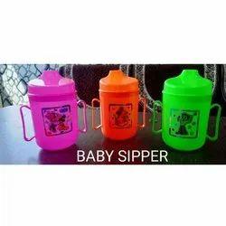 Plastic Baby Sipper Bottle