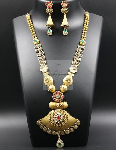 Temple jewellery necklace set at rs 111000 piece temple jewellery temple jewellery necklace set aloadofball Choice Image