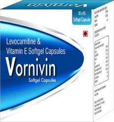 Levocarnitine and Vitamin E Softgel Capsules