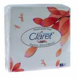 40 x 40 mm Claret High Quality Tissue Napkin