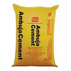 Ambuja Cement, Packaging Type: Sack Bag