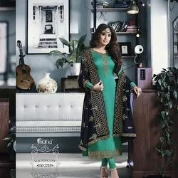 Fancy Georgette Work Suit