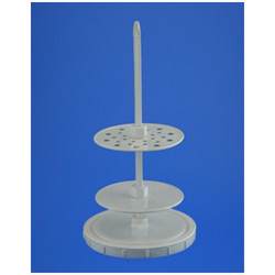 PP Pipette Stand Vertical Heavy Base