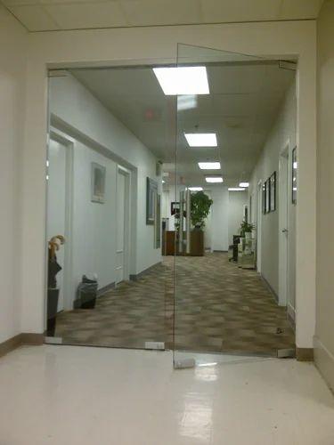 Toughened Glass Frameless Toughened Glass Door Service Provider From Chennai