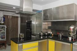 Residential Stainless Steel Modular Kitchen