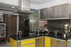 Residential Stainless Steel Modular Kitchen