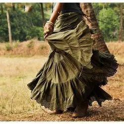 Organic Ladies Long Skirt