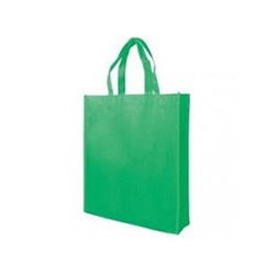 Plain Non Woven Bag With Side Gusset