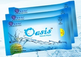 Oasis 10 Pulls Pack Wet Wipes