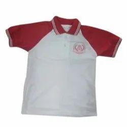 Collar Neck School T Shirt