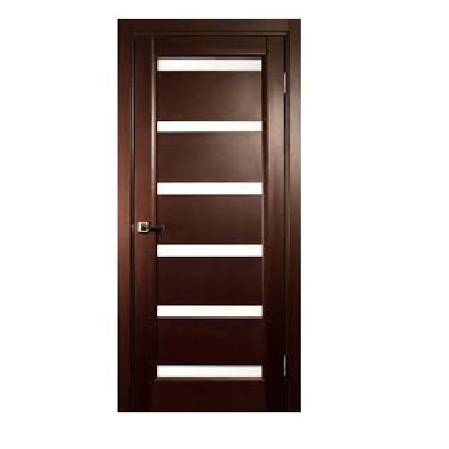 Bedroom Door: Dark Brown Fancy Bedroom Door, Rs 6500 /piece, Rogins