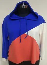 Hooded Full Sleeves Men's Pullover Multicolor Hoodie