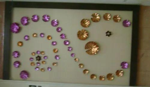 Kreative Lotus Pond Steel Wall Arts Rs 75000 Set