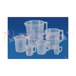 Tesca Polypropylene Measuring Jug, Chemical Laboratory