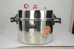 200 Litres Aluminum Jumbo Pressure Cooker (211 Quarts)