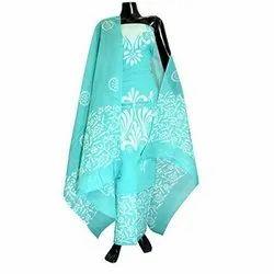 Cotton Unstitched Ladies Batik Salwar Suit