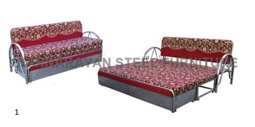 Polyester Modern Convertible Sofa Bed