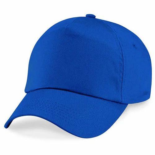 dc7f8d15c53 Blue Plain Cap
