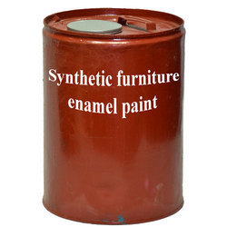 High Sheen Synthetic White Enamel Paint