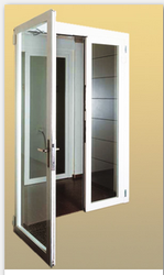 Multicolor Aluminium Door