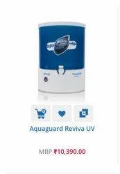 Eureka Forbes Wall Mounted Aquaguard Reviva Uv, Model Name/Number: Reviva Uv Aquaguard, Tank Storage Capacity: 5-10 L