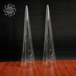 R&D Transparent Imhoff Cones, For Chemical Laboratory