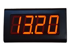 Mild Steel Powder Coated Black Low Cost Digital Wall Clock