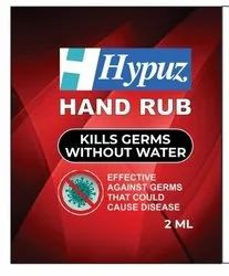 HYPUZ Hand Rub Sanitizer Sachet OR/HSS/02